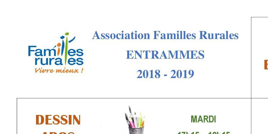 inscription aux activités - Familles Rurales Entrammes