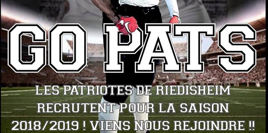 Adhésion Football Américain - Sénior et Jeunes (2018-2019) - ASFA Les Patriotes - Footbal Américain