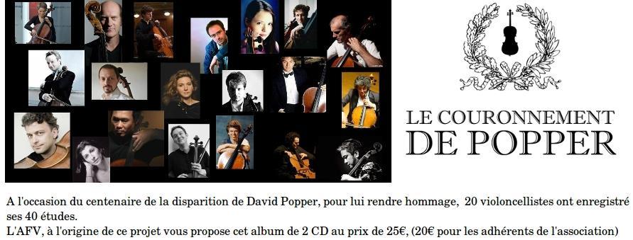 Adhésion AFV 2018 - Association française du violoncelle