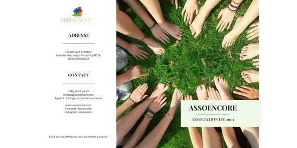 Adhésion ASSOENCORE - association ENCORE