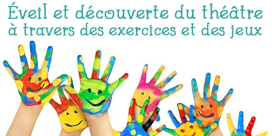Cours de théâtre Enfants 2018 - 2019 - Atome Théâtre