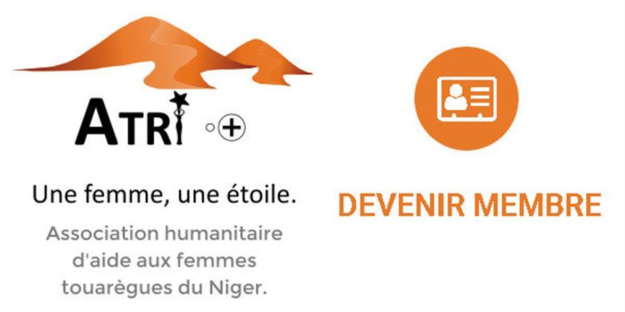 Adhésion 2019 - ASSOCIATION HUMANITAIRE ATRI. UNE FEMME, UNE ÉTOILE