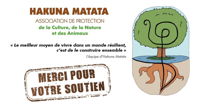 Adhésion à l'association Hakuna Matata - Asso Hakuna Matata