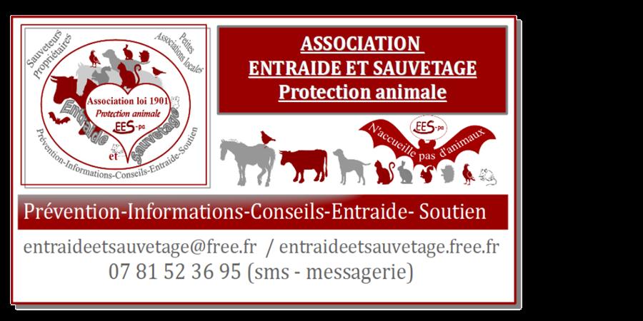 Adhésion 2020 - Entraide et sauvetage-protection animale