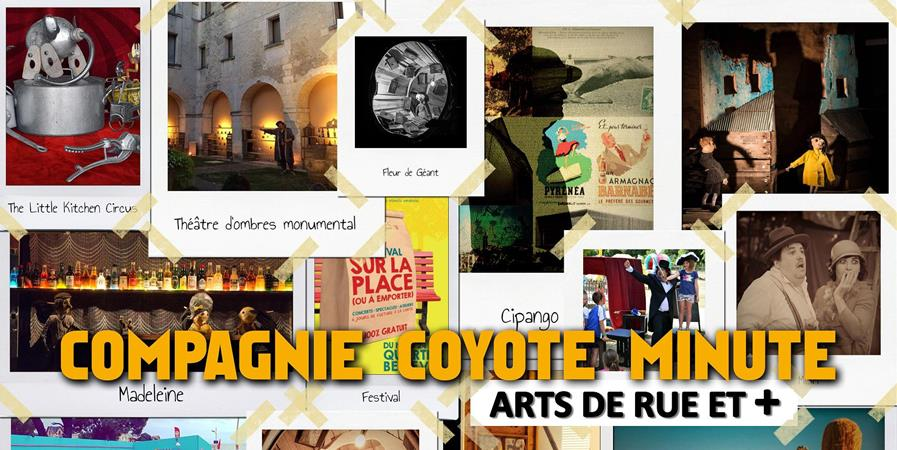 Adhésion Compagnie Coyote Minute - coyote minute