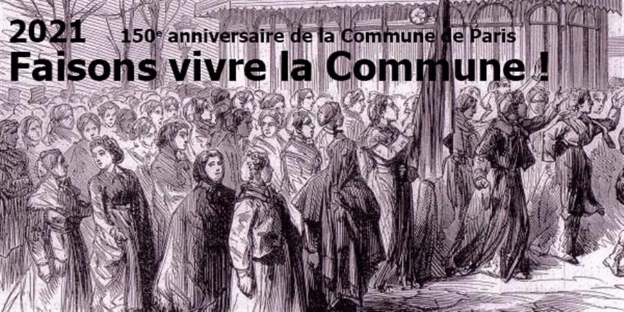 Faisons vivre la Commune! - Adhésion en ligne - Faisons vivre la Commune !