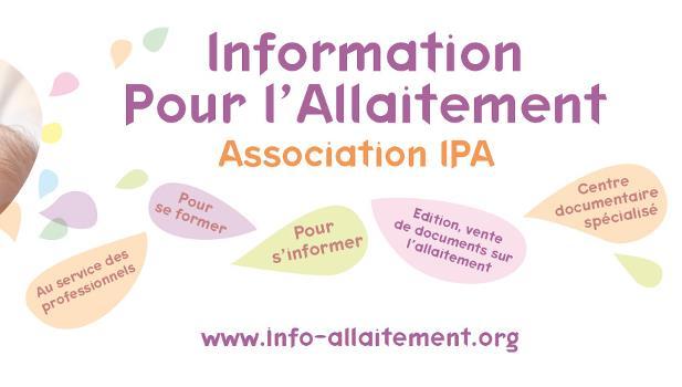 Adhésion à IPA - Information pour l'Allaitement - Information Pour l'Allaitement