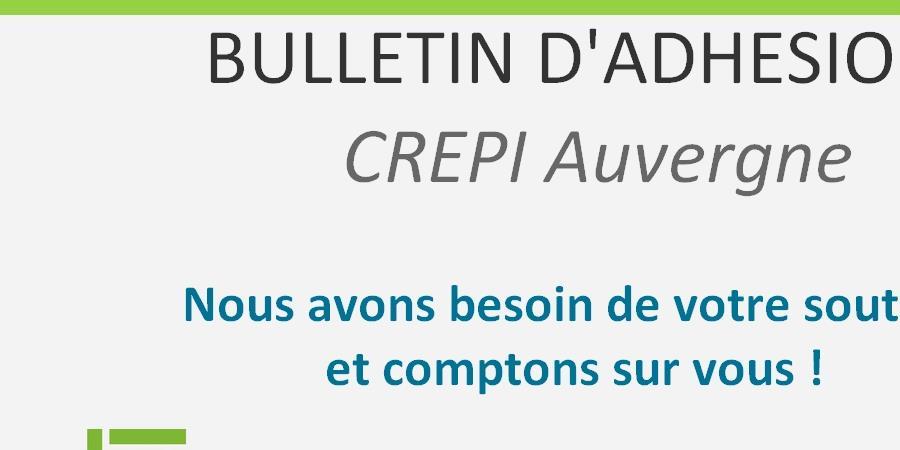 CREPI AUVERGNE - ADHESION - CREPI Auvergne
