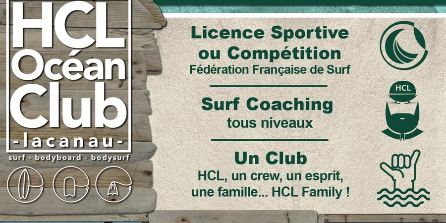 Adhésion annuelle 2021 - HCL Océan Club