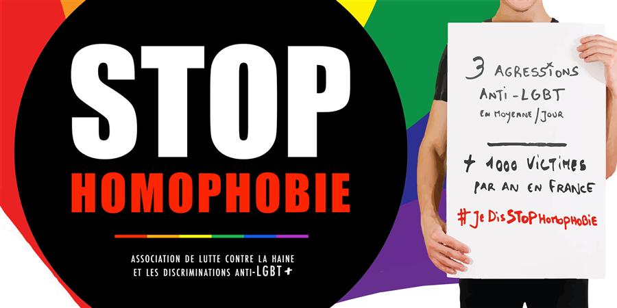 Adhésion - STOP homophobie