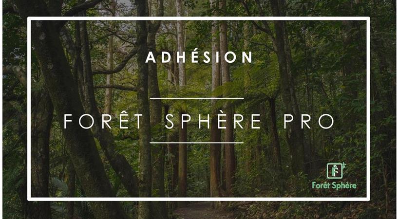Adhésion Forêt Sphère Pro - Forêt Sphère