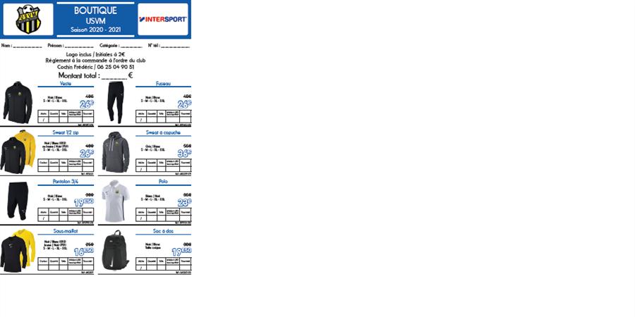 Boutique 2020/2021 - US VILLAINES MALICORNE