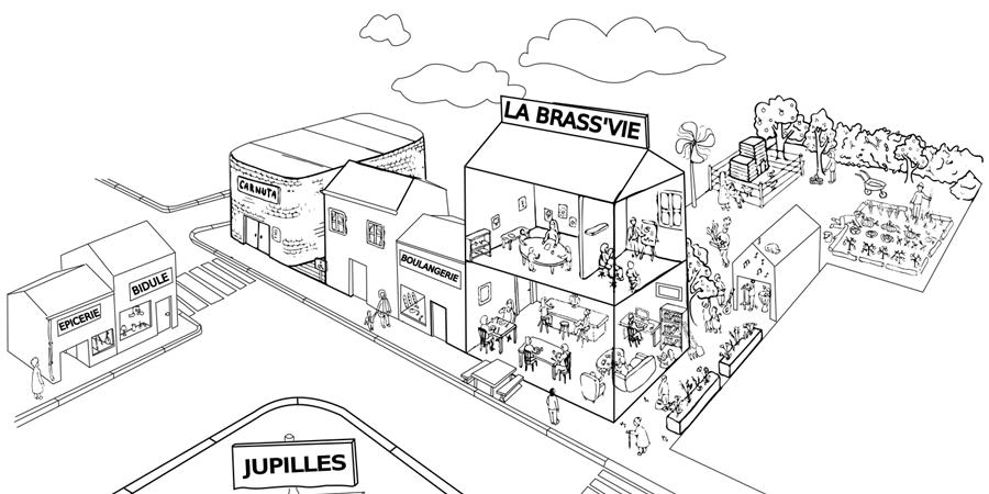 adhésion de soutien au Saint-Jacques - La Brass'Vie de Jupilles