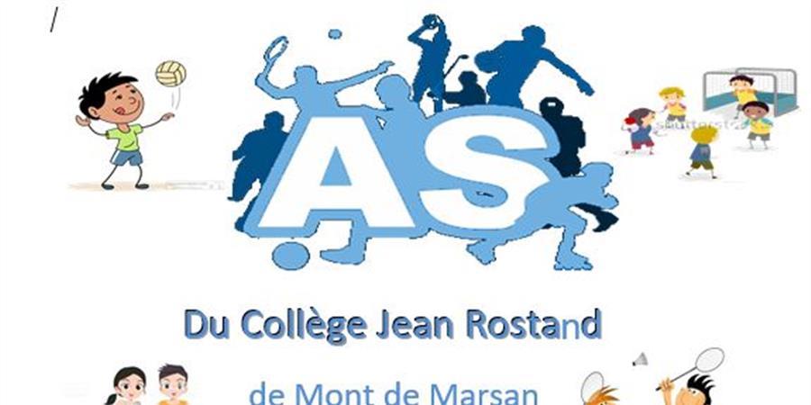 ASSOCIATION SPORTIVE DU COLLEGE JEAN ROSTAND DE MONT DE MARSAN - Association sportive du collège Jean Rostand