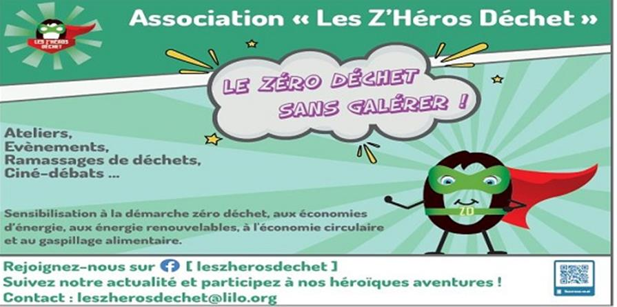Adhésion Association Les z'héros déchet - lesz'herosdechet65