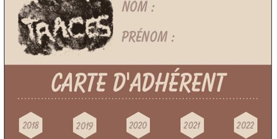 Adhésion 2020 - Traces