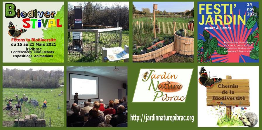 Adhésion à Jardin Nature Pibrac - Jardin Nature Pibrac