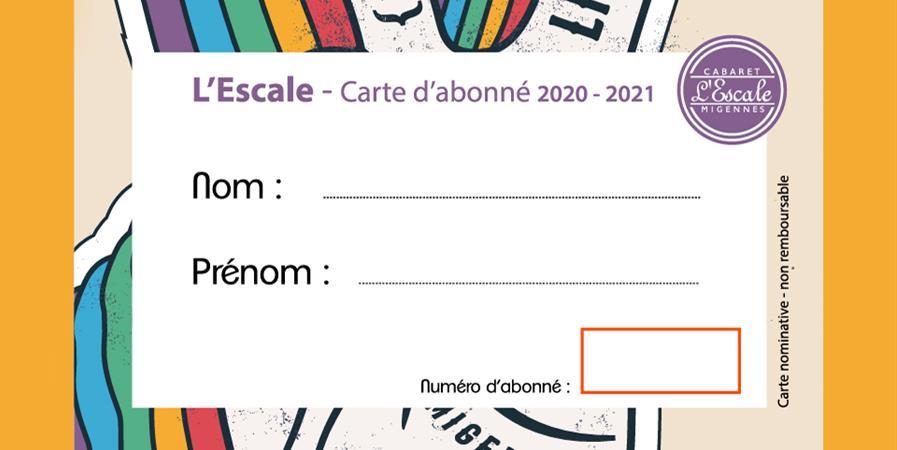 CARTE D'ABONNES - AGEM