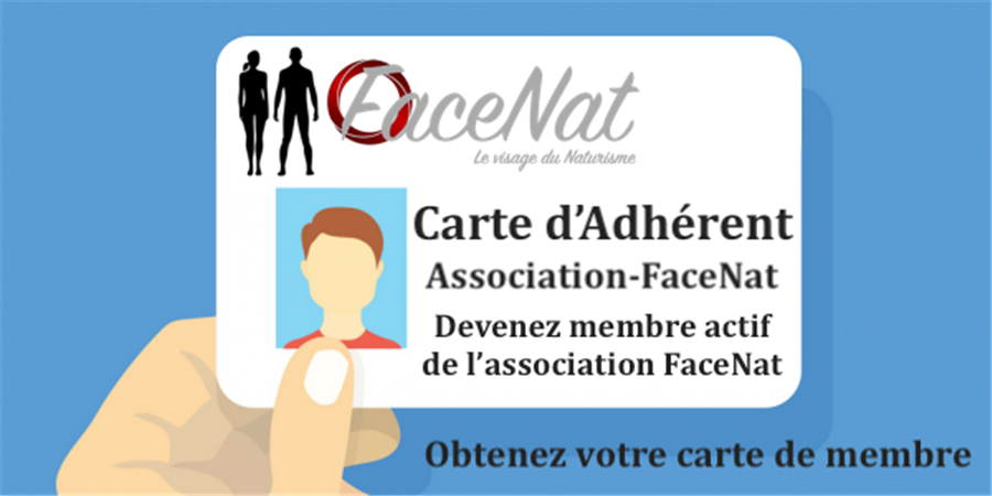 Adhésion Association Facenat 2020 - Association Facenat