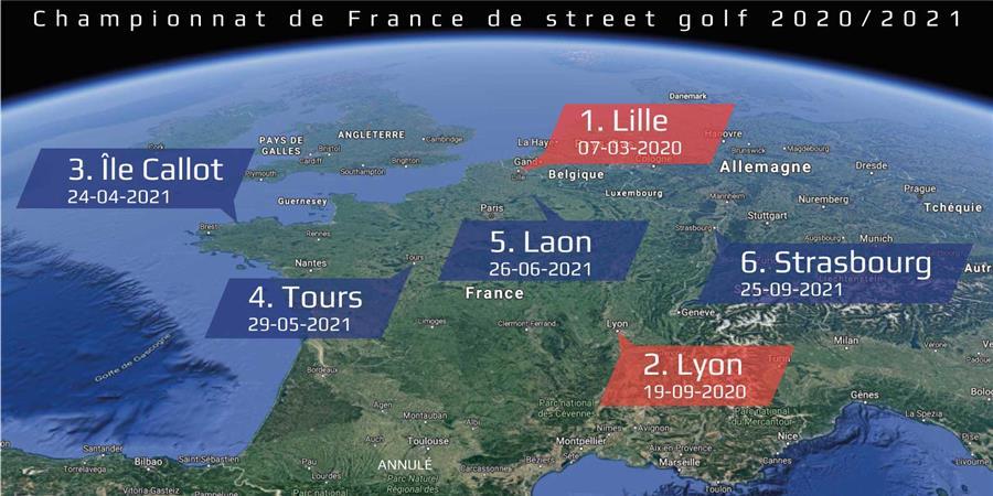 Adhésion individuelle FFSG 2020 - Fédération Française de Street golf