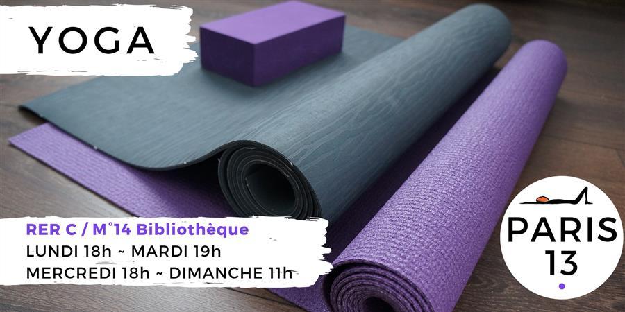 Adhésion annuelle 2019/2020 - Aux Couleurs du Yoga