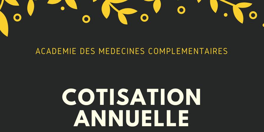 Adhésion association ACAMECO - Académie des Médecines Complémentaires