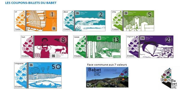Le BABET Adhésion 2018 Monnaie Locale du Pilat MLP - Monnaie locale du Pilat