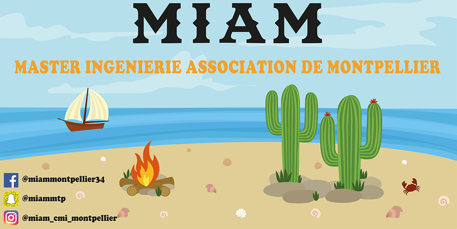 Adhésion association MIAM - CMI Montpellier - MIAM - Montpellier