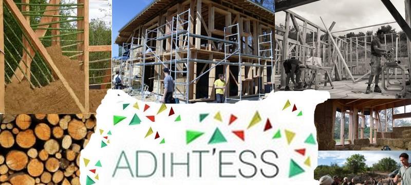 Participer au développement de l'écoconstruction et l'habitat participatif  - ADIHT'ESS