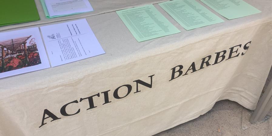 Formulaire d'adhésion à Action Barbès - Action Barbès