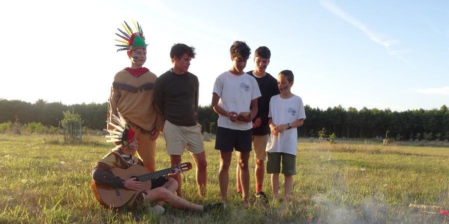 Inscription camp de Pâques éclaireurs - Scouts Orthodoxes de France