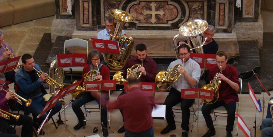 Ensemble Cuivres et Orgue en Tarentaise - Fédération Musicale de Savoie