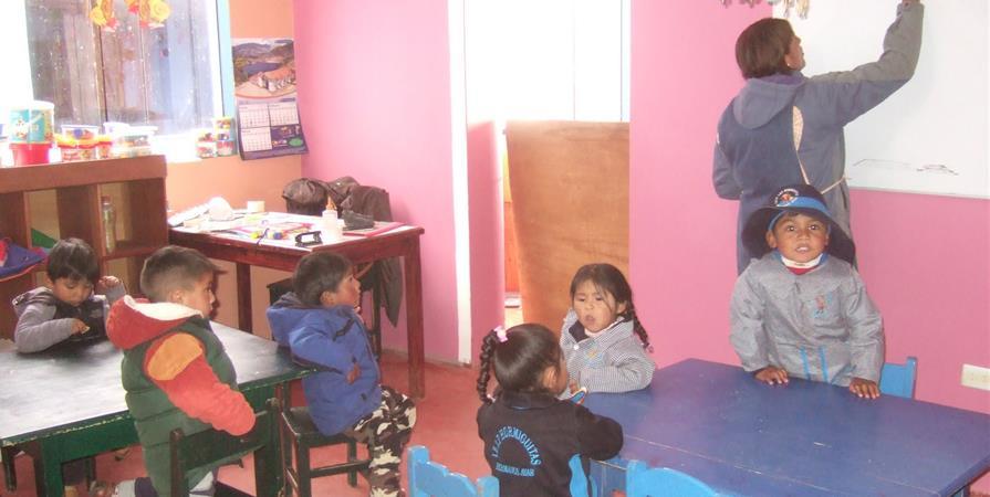 Je parraine une classe - Los Chicos de Cusco