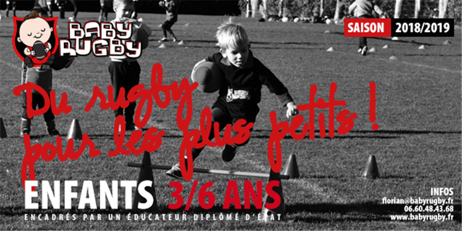 Adhésion Baby Rugby 2019-2020 - Babyrugby
