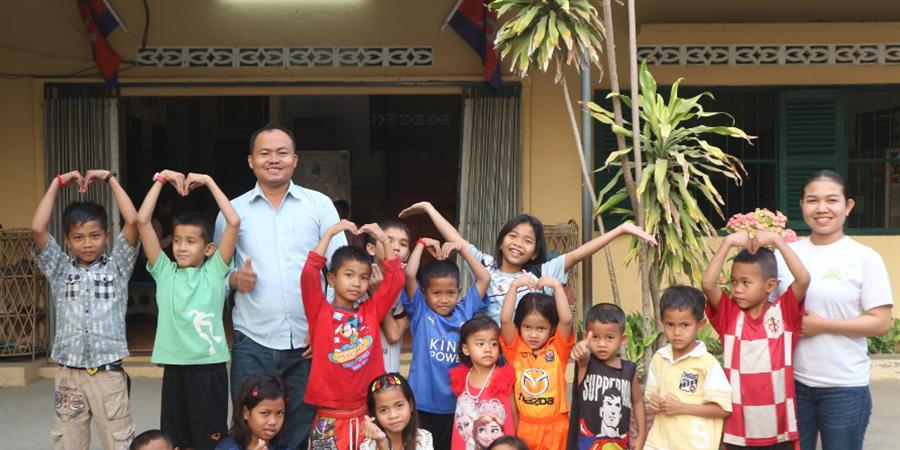 Parrainer 1 Enfant ou 1 Centre avec l'association Enfance Espoir - ENFANCE ESPOIR
