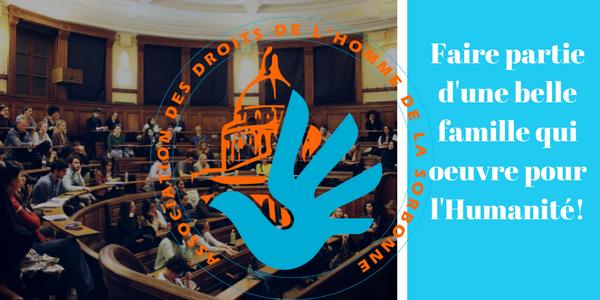 Adhésions 2018-2019 - Association des droits de l'Homme de la Sorbonne