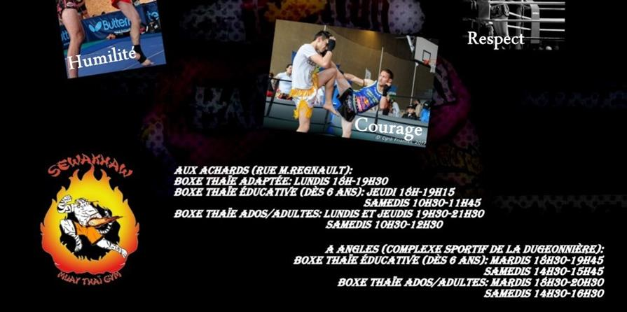 Bulletin d'inscription - Sewakhaw Muay Thaï Gym