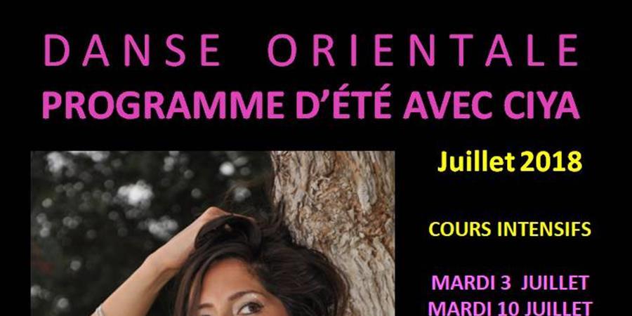 Cours d'été avec Ciya (juillet 2018) - Orient Danse - Ciya