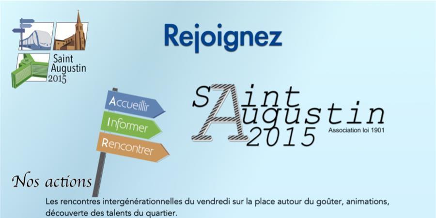 Bulletin d'adhésion - 2020 - Saint Augustin 2015