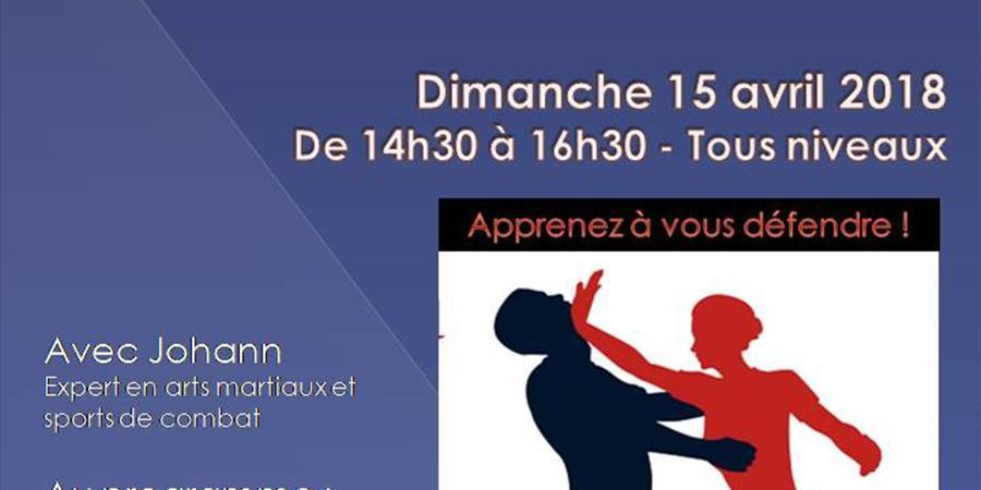 """Stage de """"self defense"""" féminine - Association RDS - Rythme Danse et Sérénité"""