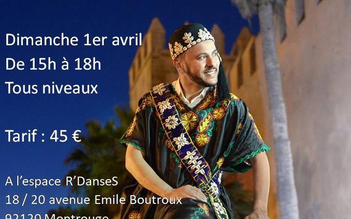 Stage de danse marocaine dimanche 1er avril avec Zomzom à l'espace R'Danses - Orient Danse - Ciya