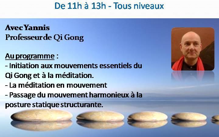 Stage de Qi Gong - gym chinoise - Association RDS - Rythme Danse et Sérénité
