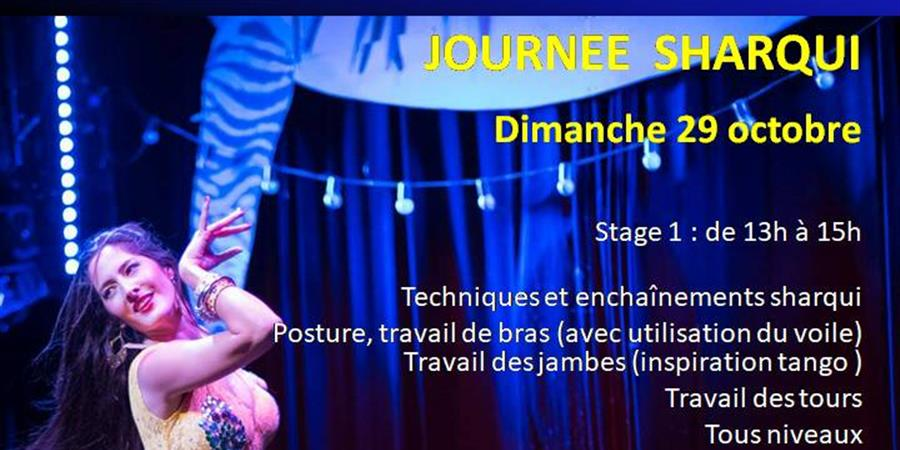 Stages avec Ciya : journée Sharqui - dimanche 29 octobre - Orient Danse - Ciya