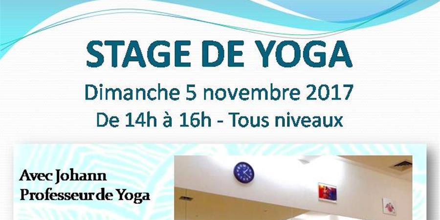 Stage de yoga - Association RDS - Rythme Danse et Sérénité