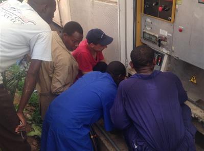 aider en Afrique a la construction de centres de soins entiérement équipés - Franceradiologie.com