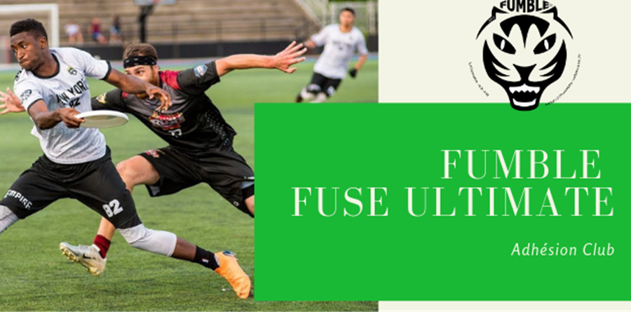 Licence Fumble : 2019-2020 - Fumble FUSE Ultimate