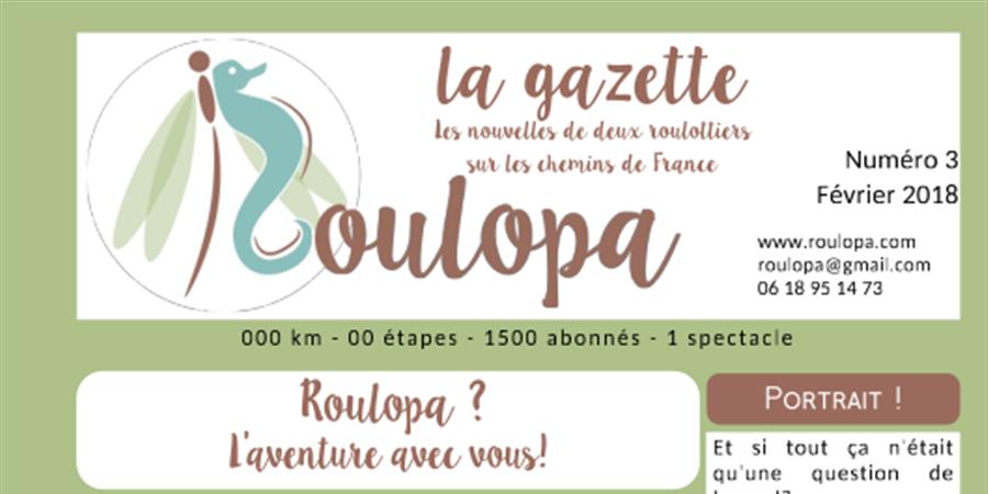 Adhésion au projet ROULOPA - roulopa