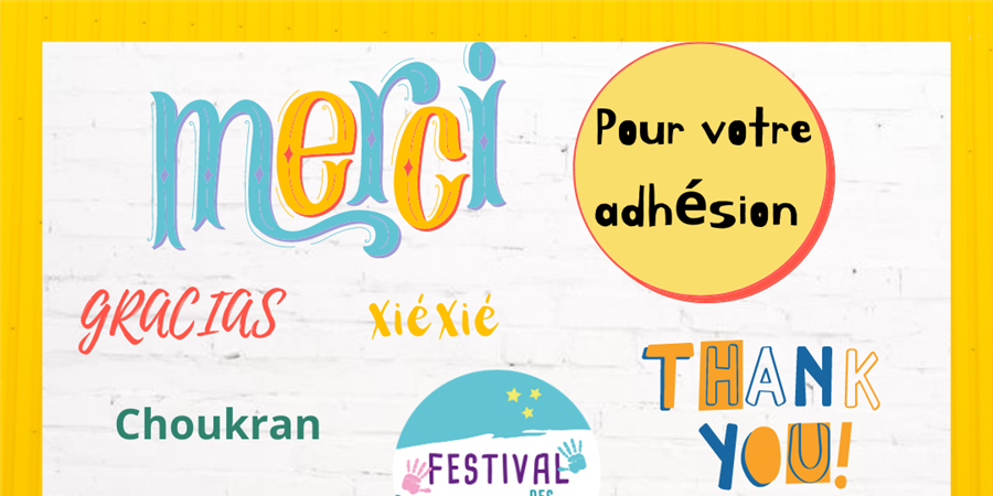 Bulletin donation Festival des enfants - Festival des enfants