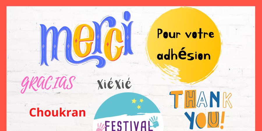 Bulletin d'adhésion Festival des Enfants - Festival des enfants