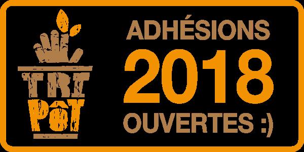 Le Tripôt - Adhésion 2018 - Le tripôt